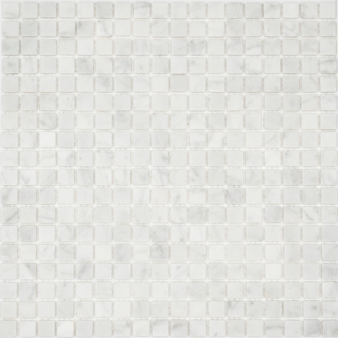 Мозаика Pietrine Bianco Aspen MAT 30010  15х15х4мм