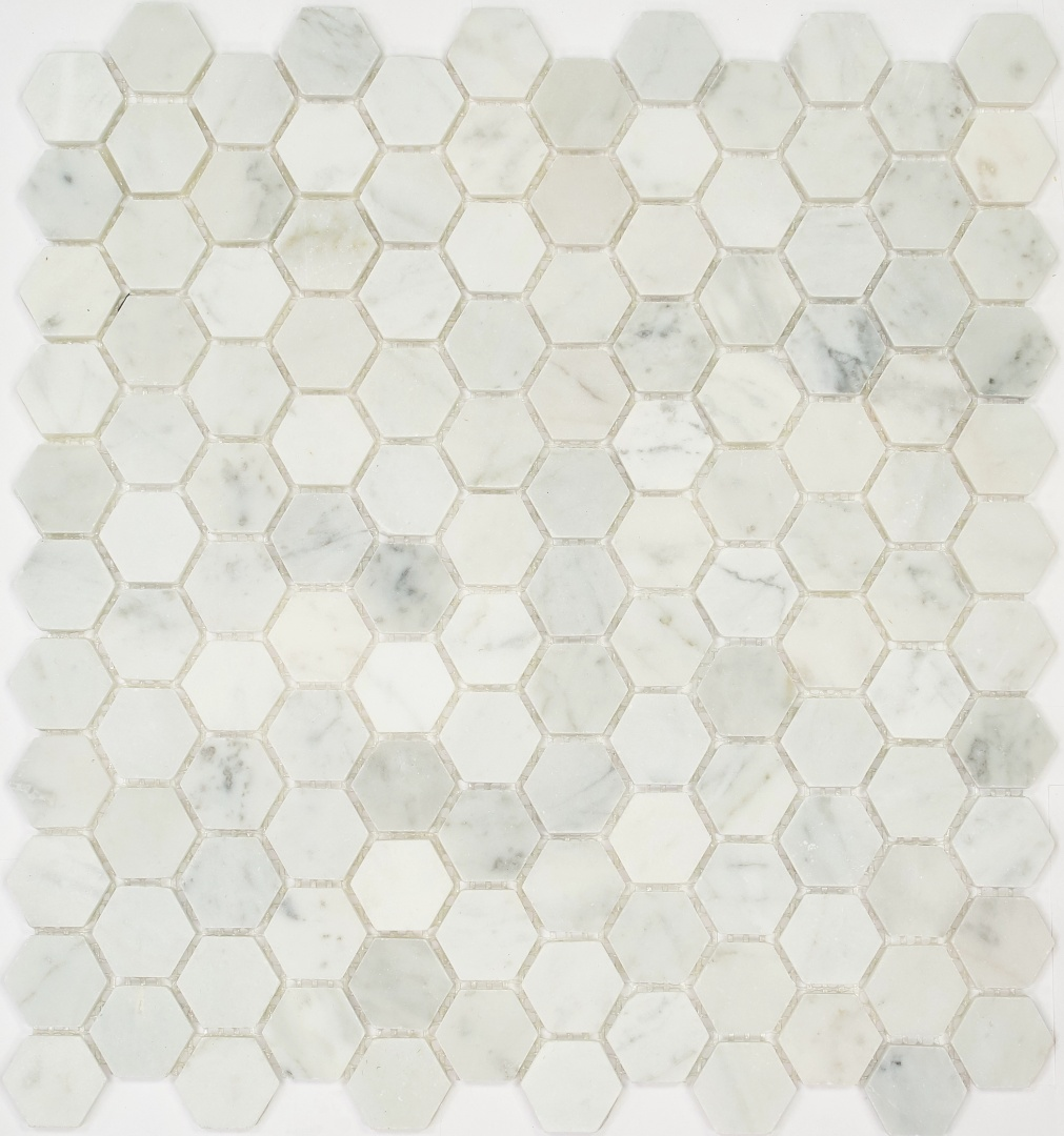 Мозаика Pietrine Hexagonal Bianco Aspen 30122 25х25х6мм