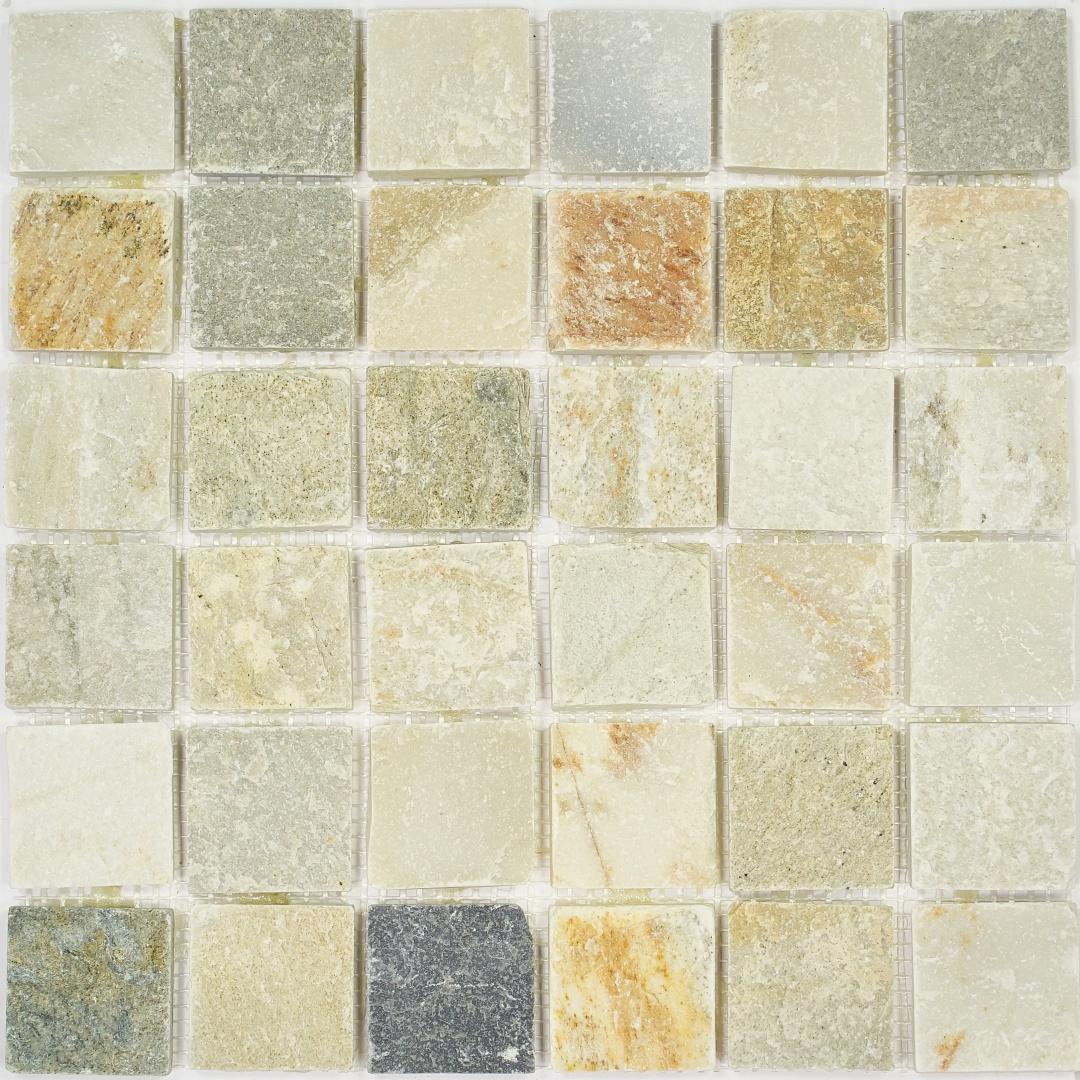 Мозаика Pietrine Slate Rustic MIX 1 30135 48х48х8мм