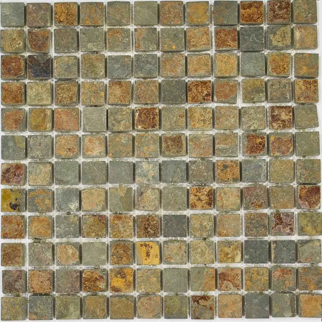 Мозаика Pietrine Slate Rustic MIX 2  30136  23х23х8мм