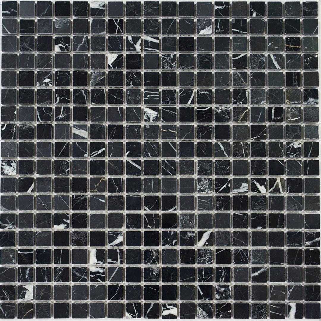Мозаика Pietrine Nero POL 35226 15х15х8мм