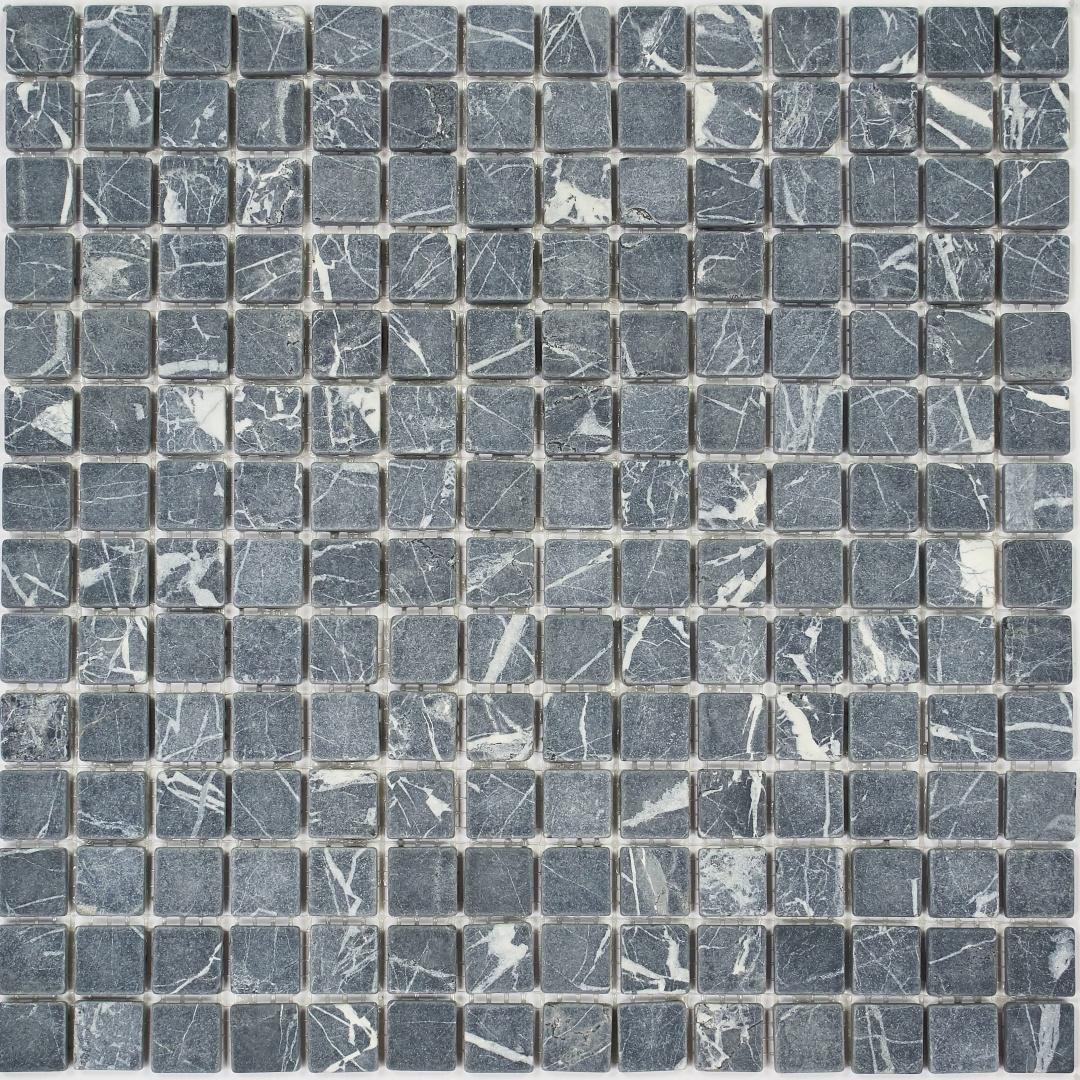 Мозаика Pietrine Nero MAT 35229 20х20х8мм