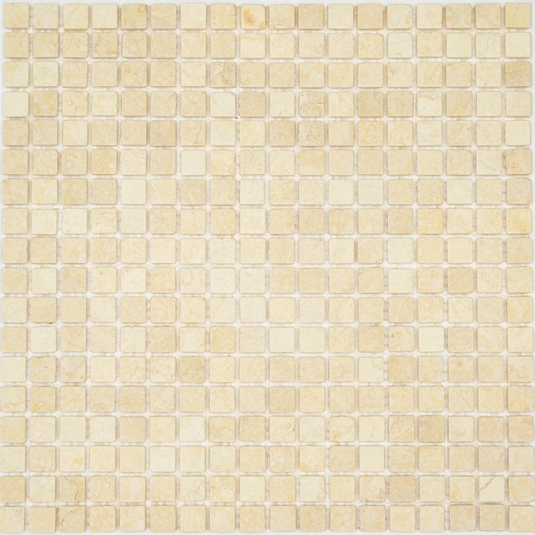 Мозаика Pietrine Botticino MAT 35339  15х15х4мм