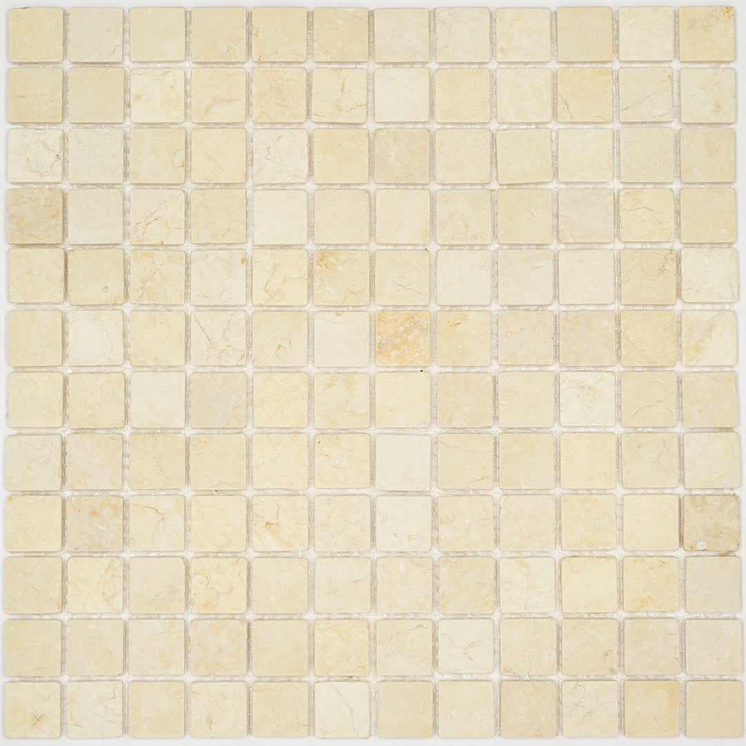 Мозаика Pietrine Botticino MAT 35341 23х23х4мм