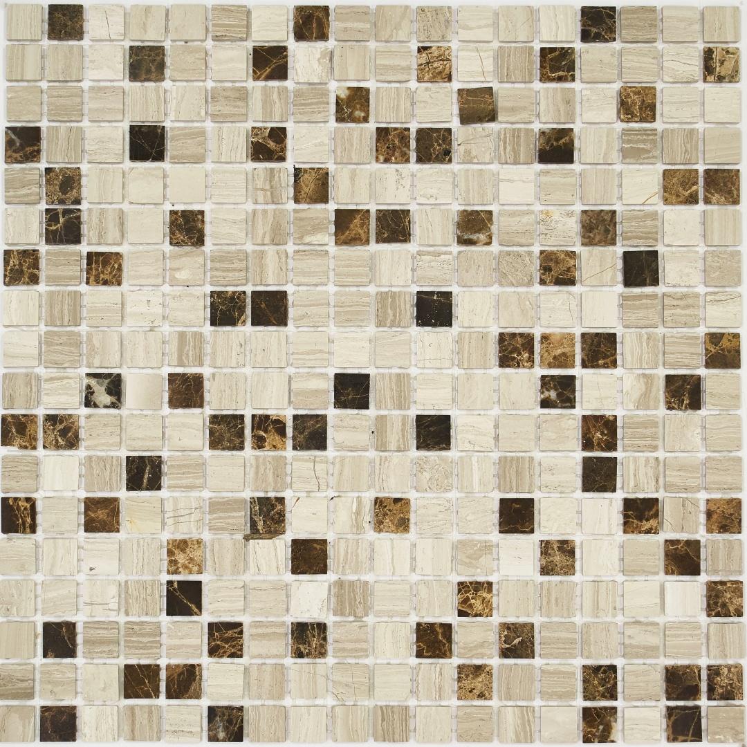 Мозаика Pietrine Pietra MIX 6 POL 35351 15х15х4мм