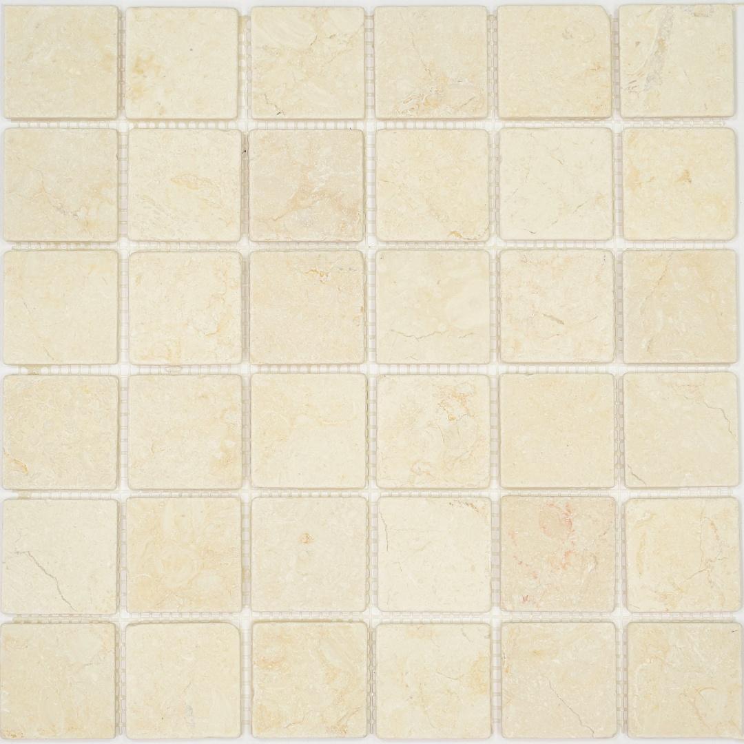 Мозаика Pietrine Botticino MAT 35406 48х48х6мм