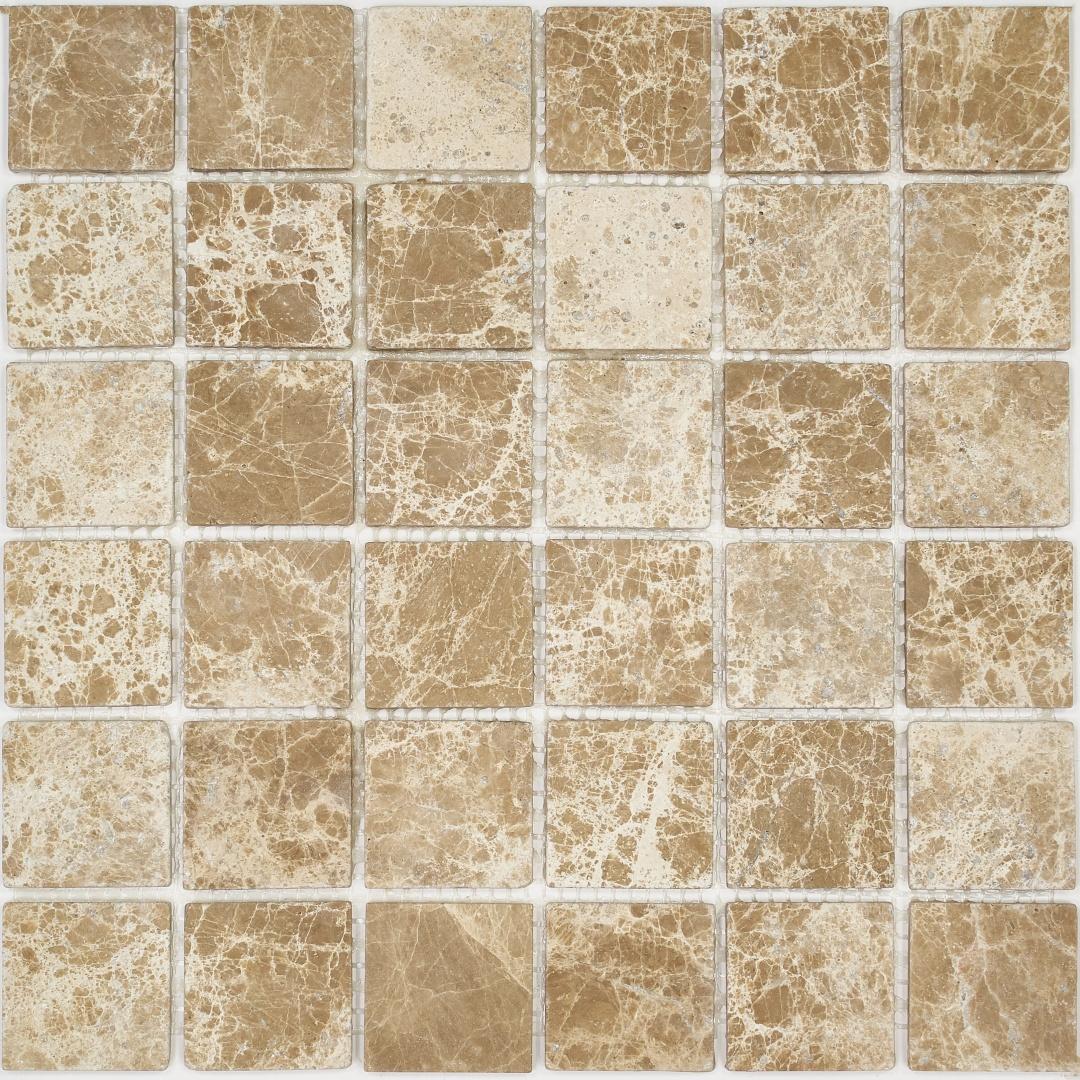 Мозаика Pietrine Emperador Light MAT 35422 48х48х6мм