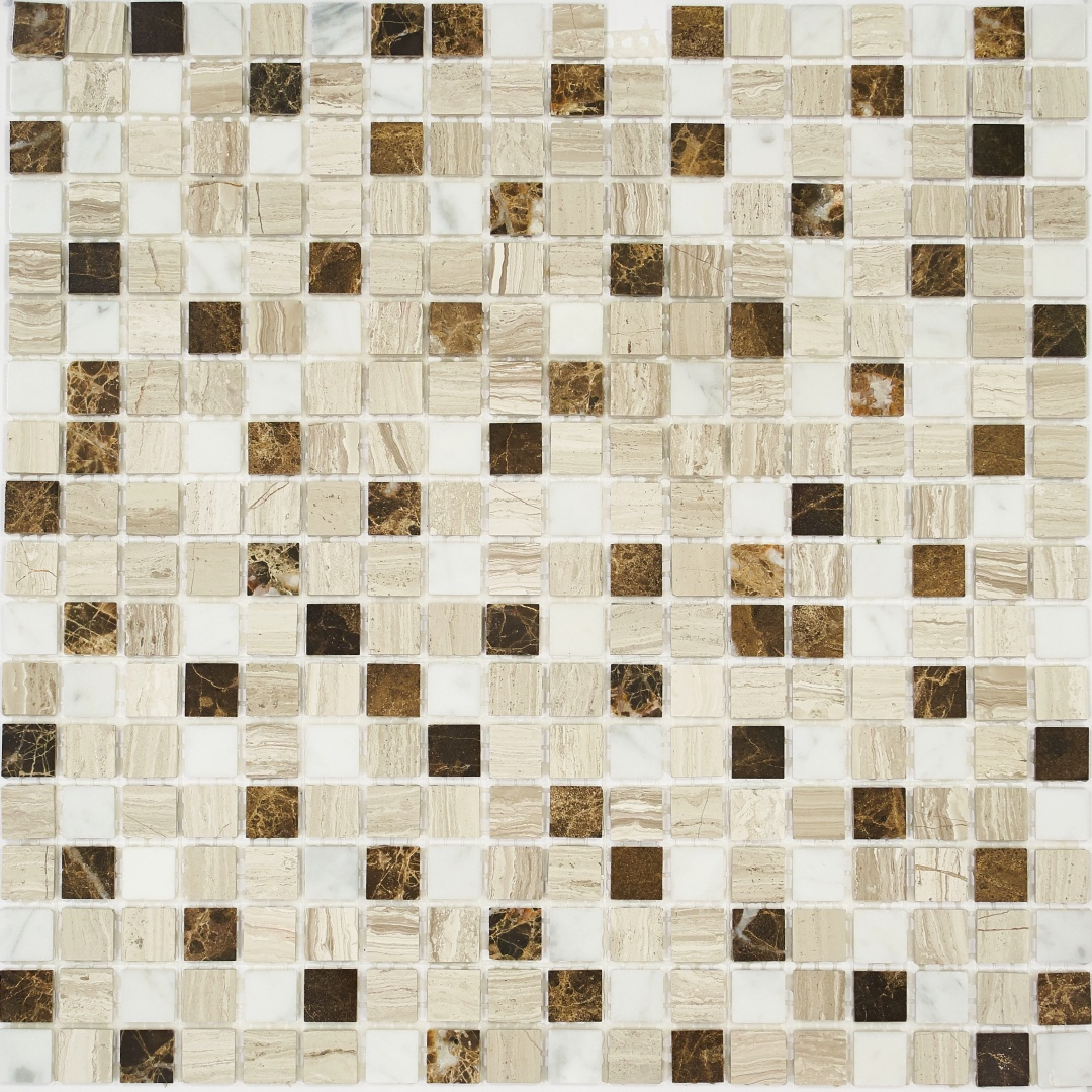 Мозаика Pietrine Pietra MIX 7 POL 35440 15х15х4мм
