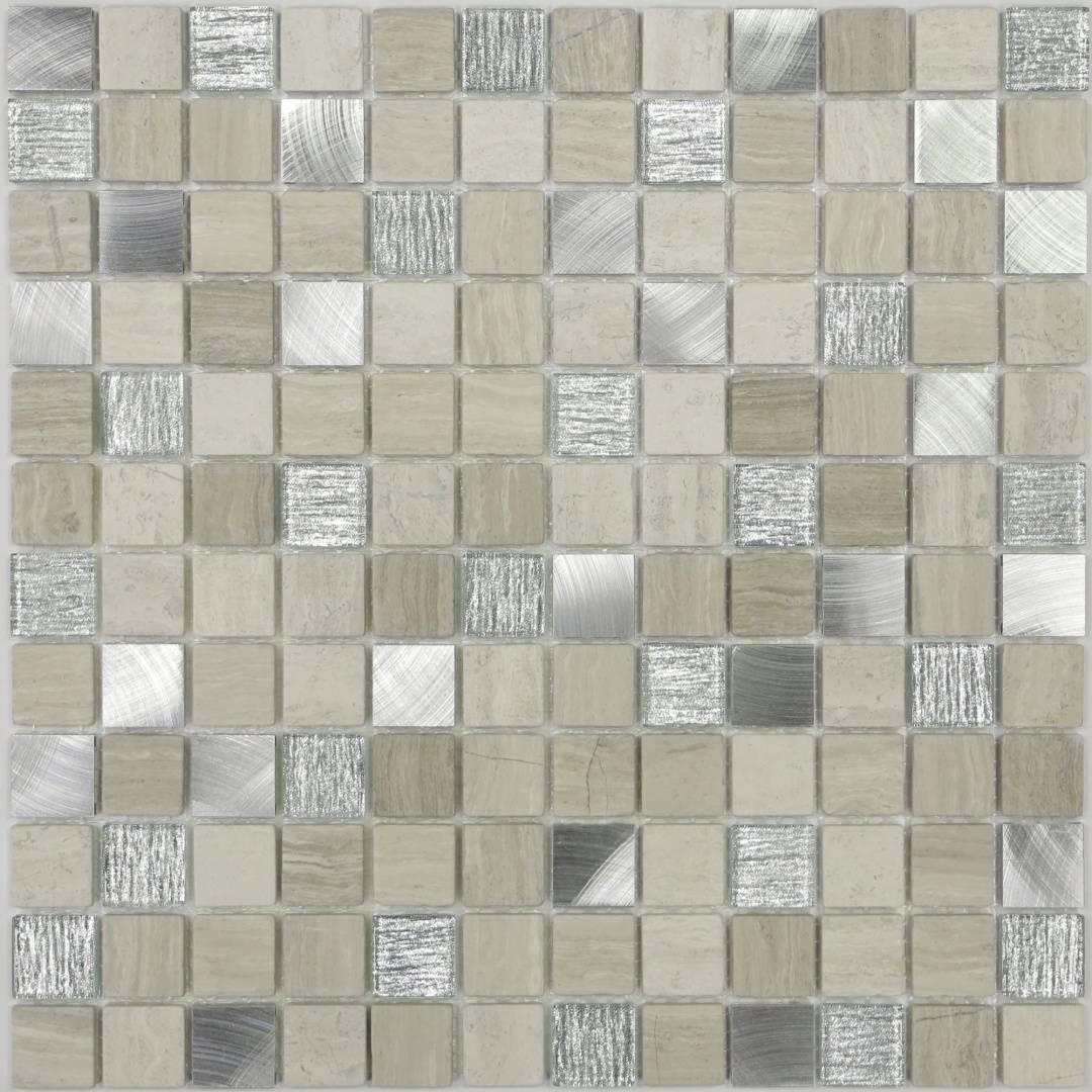 Мозаика LACRIMA Nika арт. MS-252 23х23х4мм