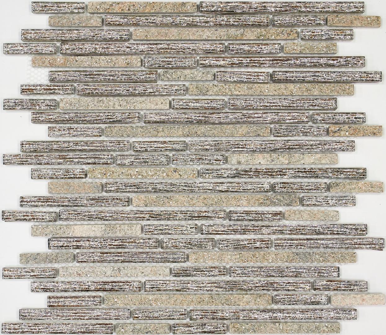 Мозаика LACRIMA Diana MS-281 15х48/9 8/150*8мм
