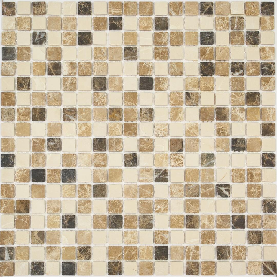 Мозаика MONTE MIX 1 MS-503 15х15х4мм