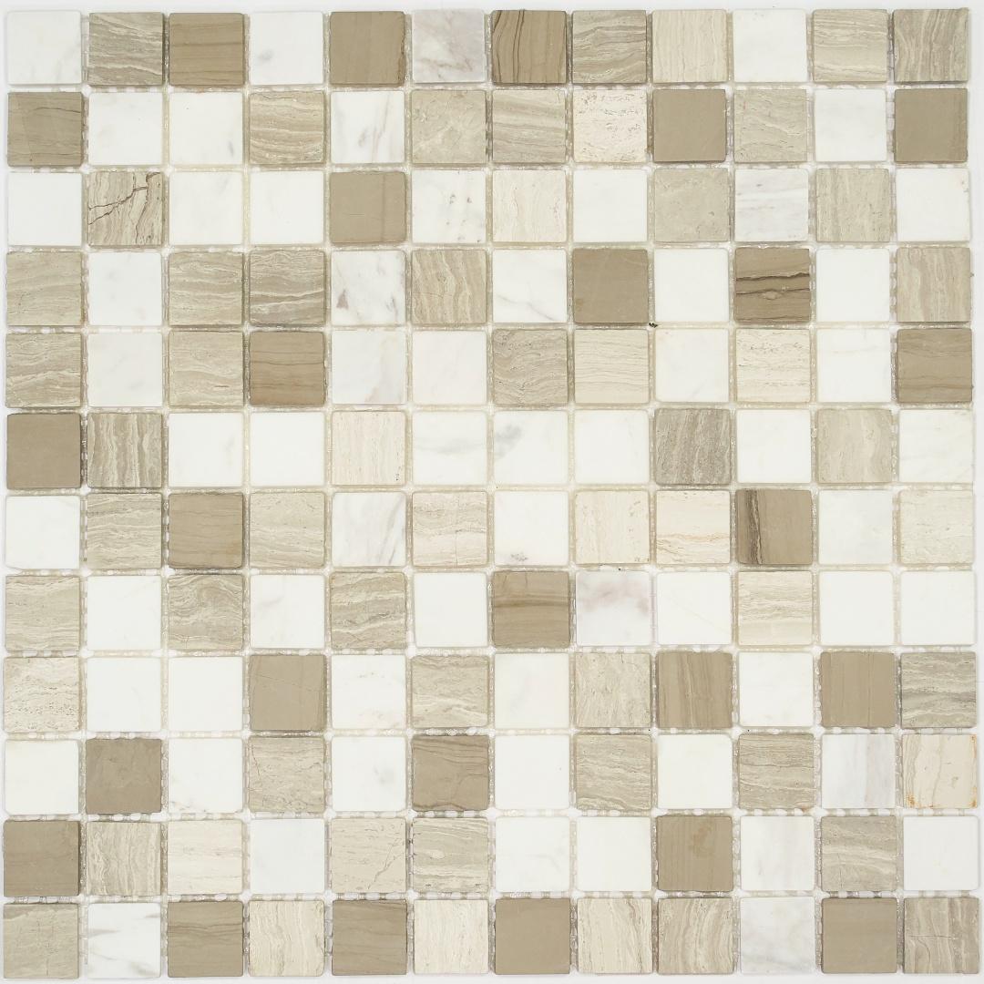 Мозаика MONTE MIX 3 MS-552 23х23х4мм