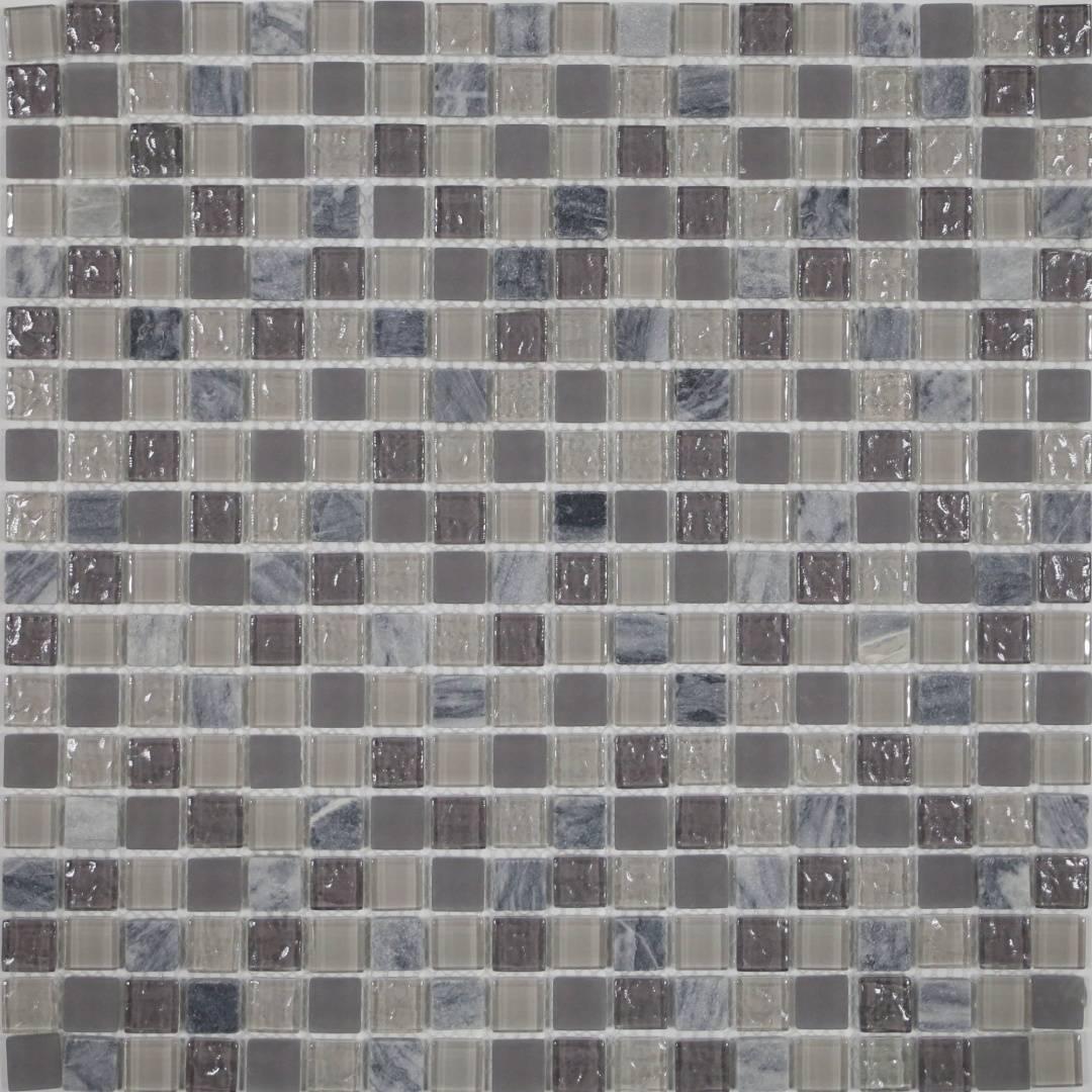 Мозаика CRYSTAL Balance MS-601 15х15х4мм