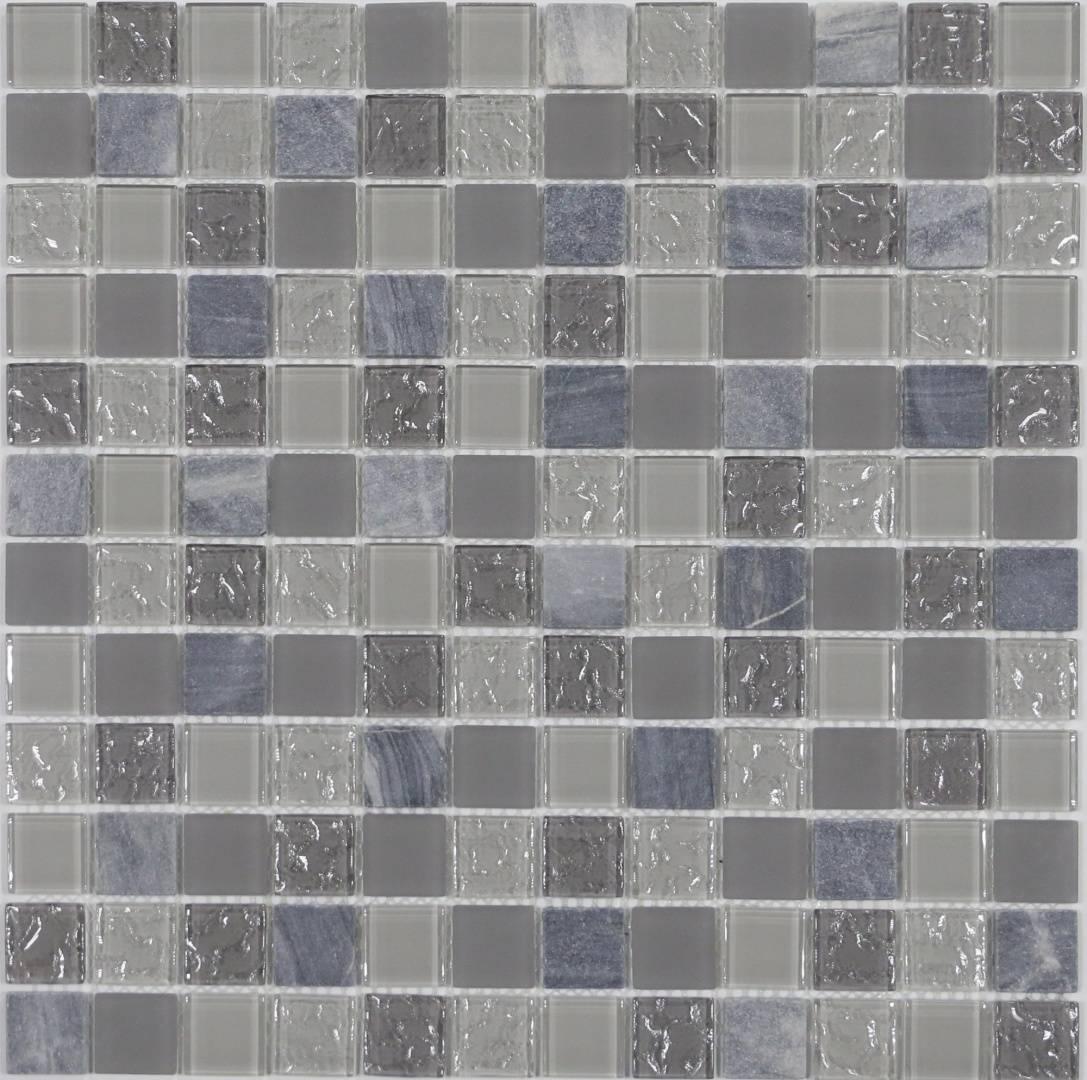 Мозаика CRYSTAL Balance MS-651 23х23х4мм