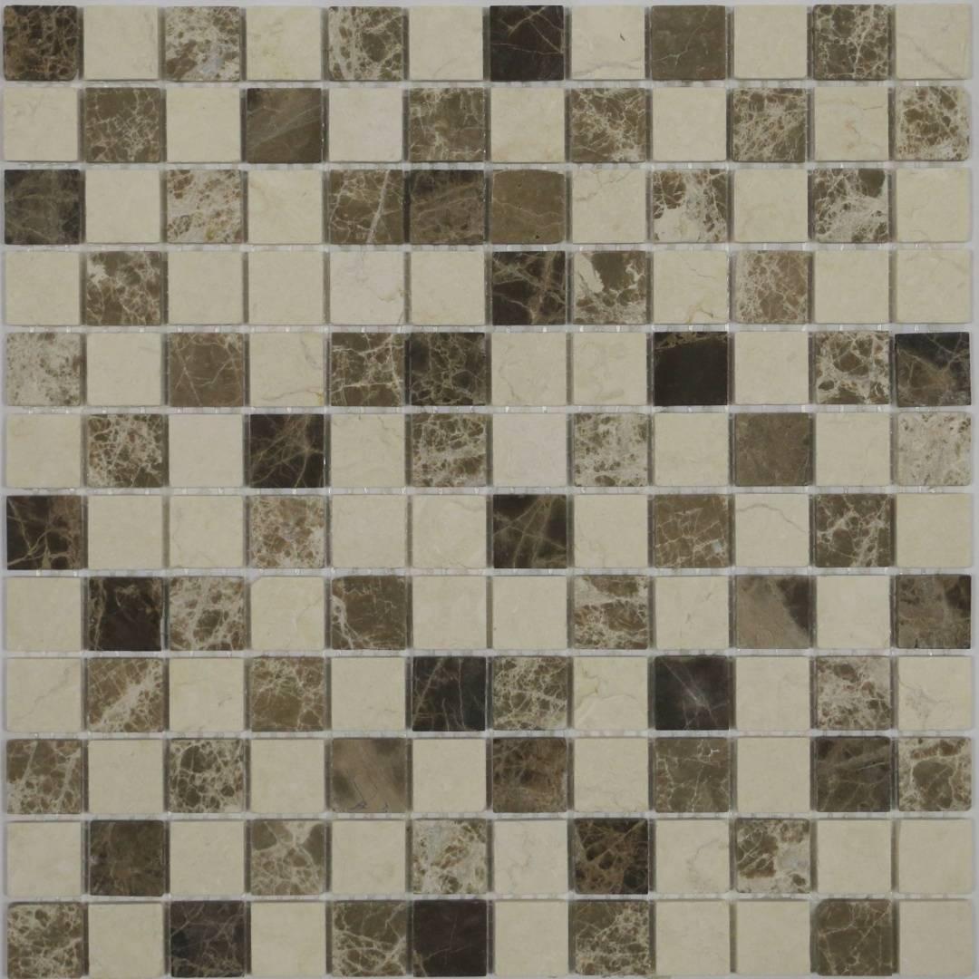 Мозаика MONTE MIX 1 MS-553 23х23х4мм